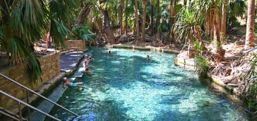 The Healing Powers Of The Mataranka Hot Springs