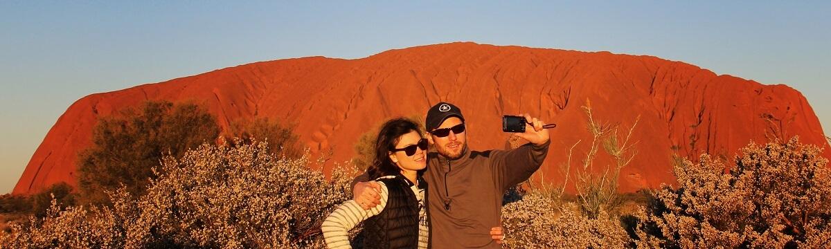 The Impressive Landscape of Uluru