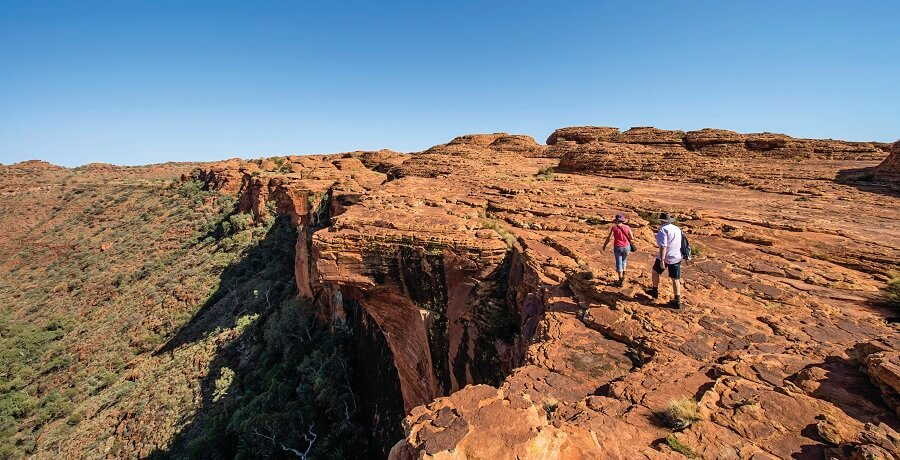 Ayers Rock and Kings Canyon Tour Rim Walk