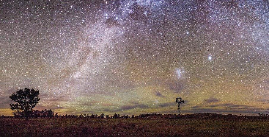 Darwin to Alice Springs with Uluru Milkyway