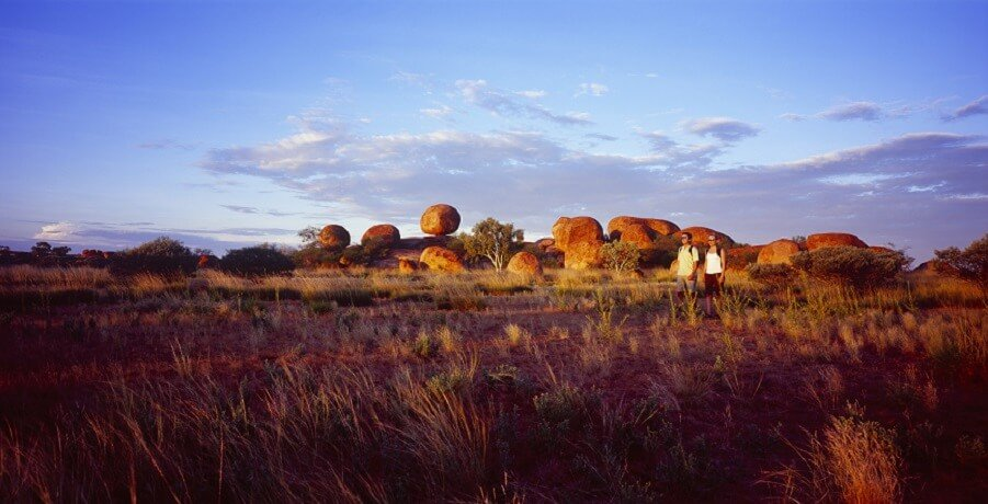 Darwin to Alice with Uluru Tour Devils Marbles