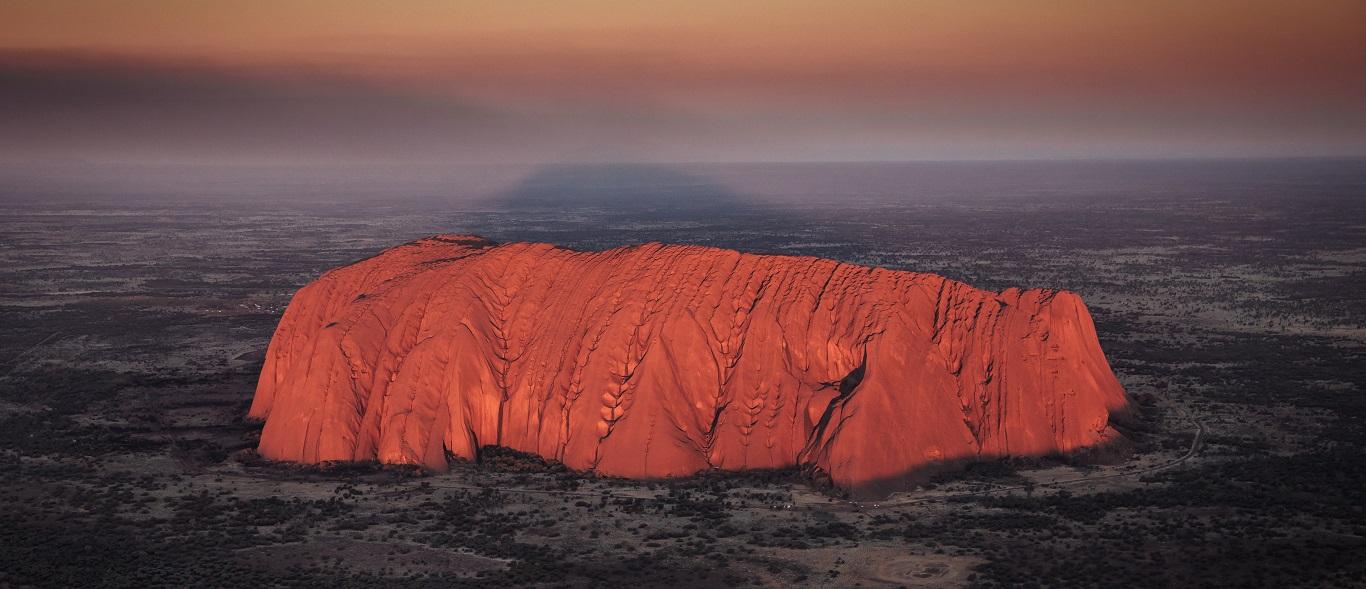 Uluru Sunrise and Kata Tjuta from Ayers Rock $129