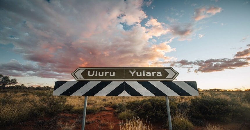 Uluru & Yalara Signage