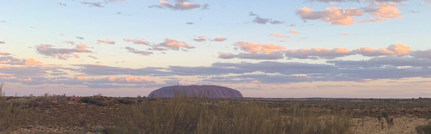 What are the features of Uluru?