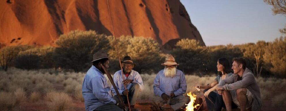 How long have Aboriginal people been in Australia?