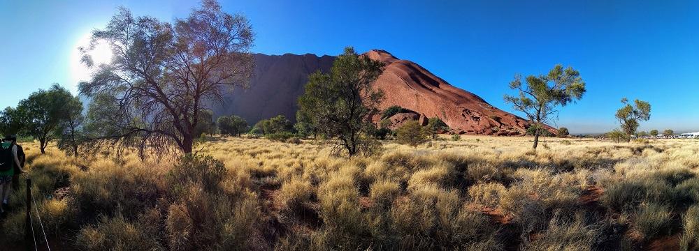 Is Uluru the world's biggest rock?