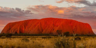 Uluru Sunset and Sacred Sites from the Rock $125