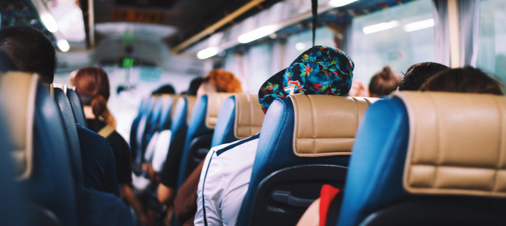 Tips for surviving a long bus ride