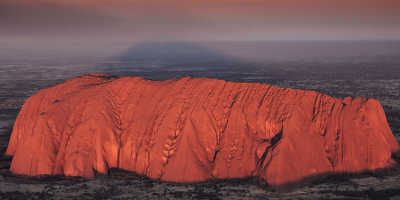 Uluru Sunrise and Kata Tjuta from Ayers Rock $135