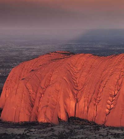 Uluru Sunrise and Kata Tjuta from Ayers Rock $135
