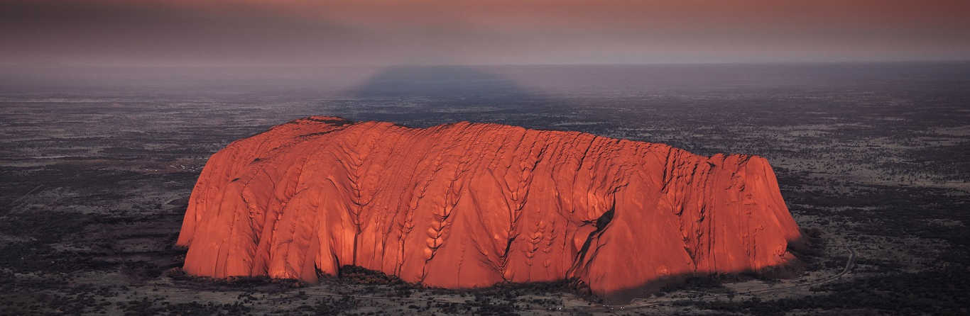 Uluru Sunrise and Kata Tjuta from Ayers Rock 5
